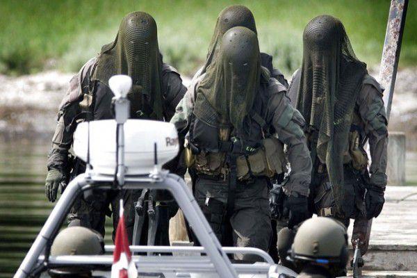 fuerzas especiales de la Marina Danesa
