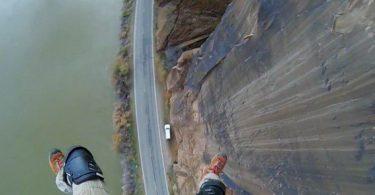 Aterrador accidente de Salto BASE