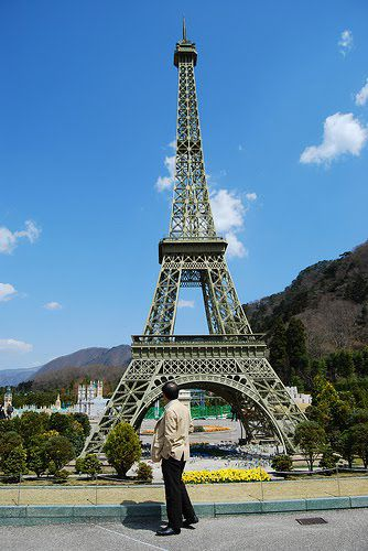 Tobu World Square torre eiffel
