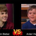 Arden Hayes VS Justin Bieber
