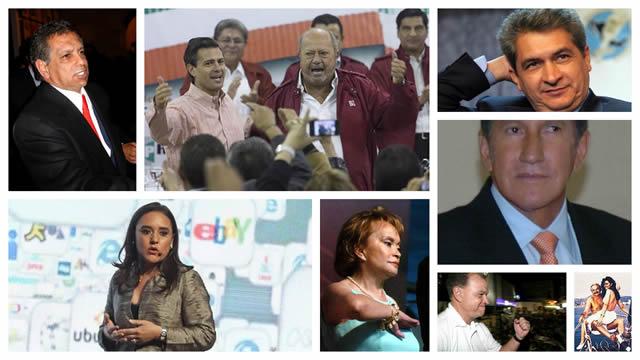 10 mexicanos más corruptos de 2013