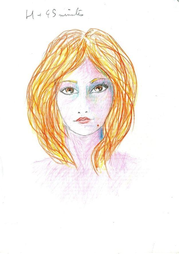 Dibujo autorretrato LSD (3)