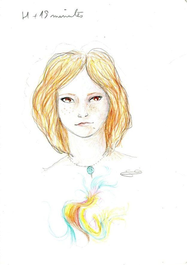 Dibujo autorretrato LSD (4)