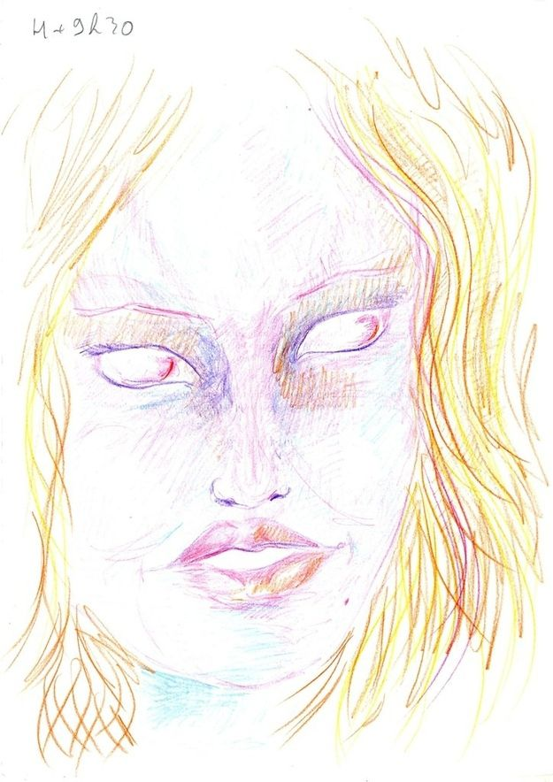 Dibujo autorretrato LSD (7)