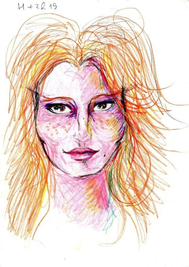 Dibujo autorretrato LSD (1)