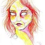 Artista crea serie de autorretratos bajo los efectos de LSD