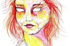 Dibujo autorretrato LSD (11)