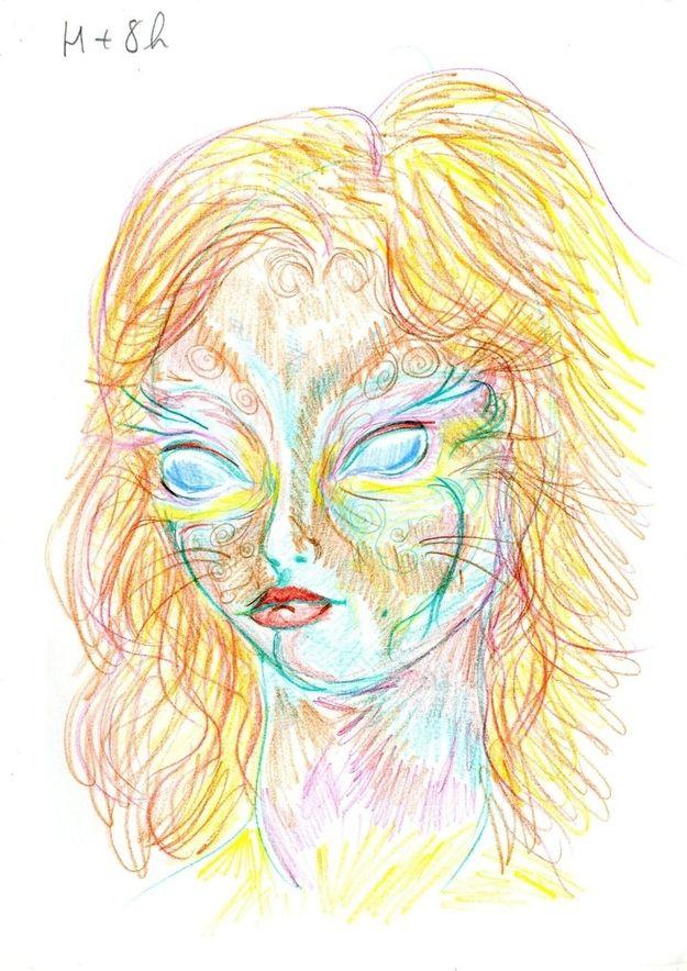 Dibujo autorretrato LSD (5)