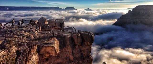 Niebla Gran Cañon Arizona (2)
