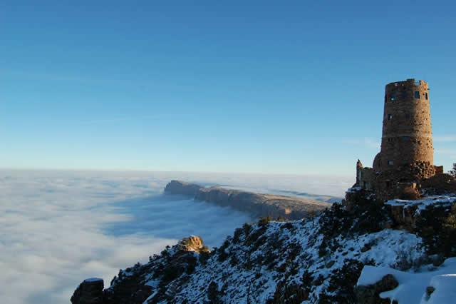 Niebla Gran Cañon Arizona (1)