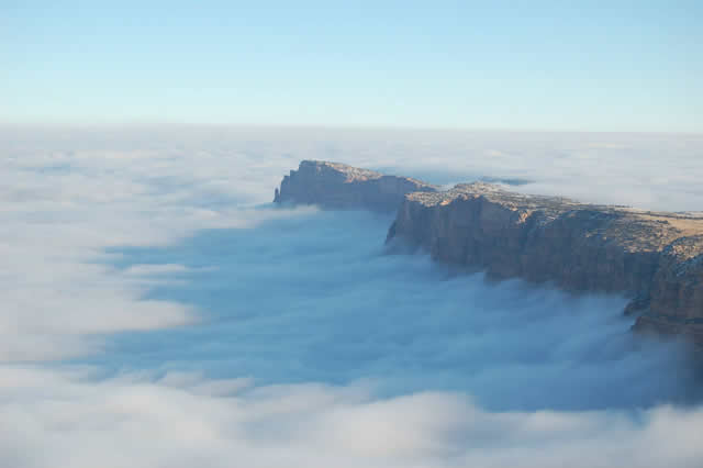Niebla Gran Cañon Arizona (9)