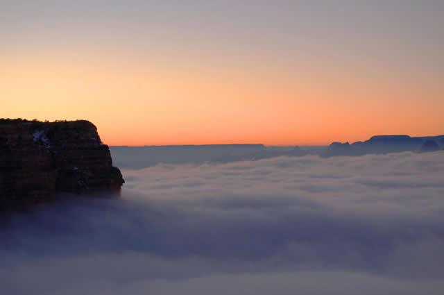 Niebla Gran Cañon Arizona (5)