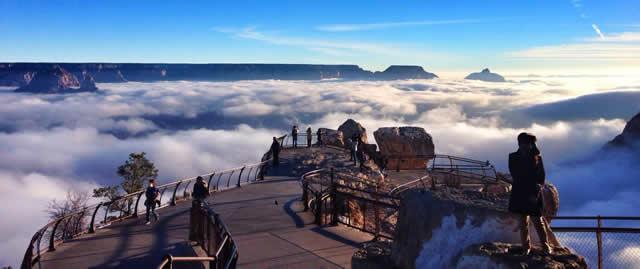 Niebla Gran Cañon Arizona (4)