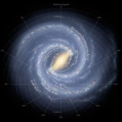 10 datos fascinantes sobre la Vía Láctea