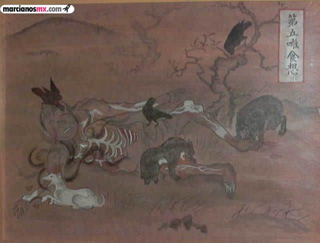 Kyusouzu pinturas budismo (6)