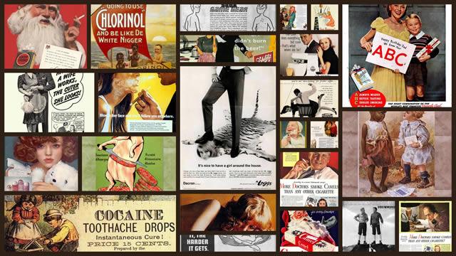 Anuncios vintage que serían prohibidos en la actualidad