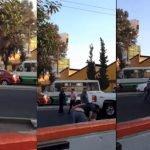 Video de un secuestro en el D.F