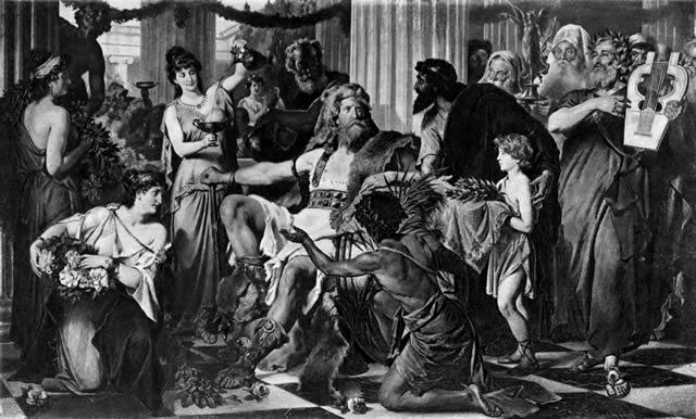 Alarico I en Atenas