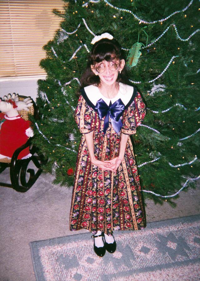 Lizzie en su infancia