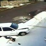 Abuela y nieto son atropellados en accidente y milagrosamente salen ilesos