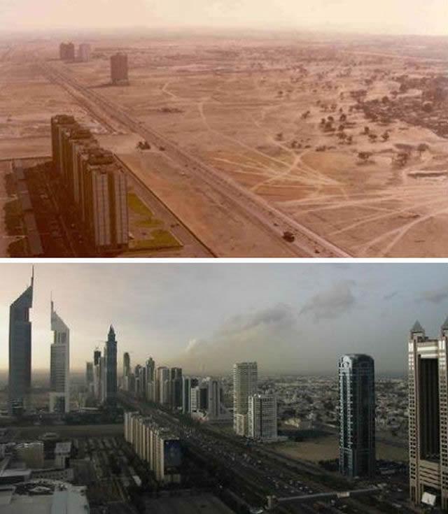 Ciudades Mundo Antes Despues (1)