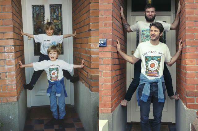 fotos infancia hermanos Luxtor (5)