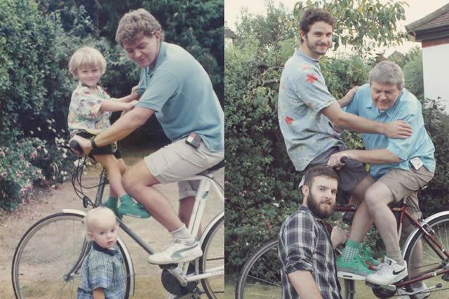 fotos infancia hermanos Luxtor (8)