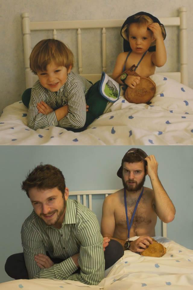 fotos infancia hermanos Luxtor (2)