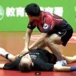El partido de ping-pong más divertido Chuang Chih-Yuan vs Jean-Michel Saive