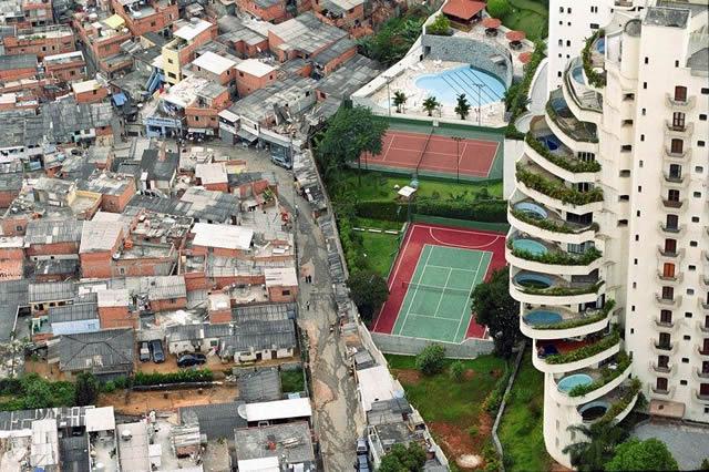 brasil, mundial, desigualdades sociales, 2014