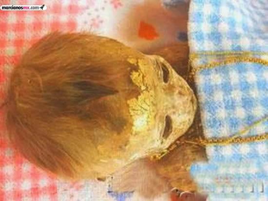 Momia de un niño se converva en casa de sus padres (5)