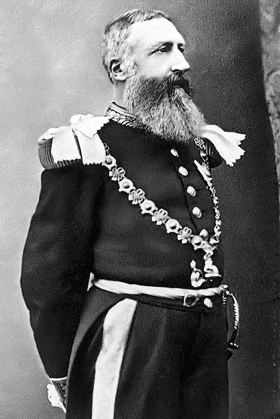 Leopoldo II de Bélgica.
