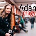 Hipnotizantes videos de personas esperando el tren por Adam Magyar