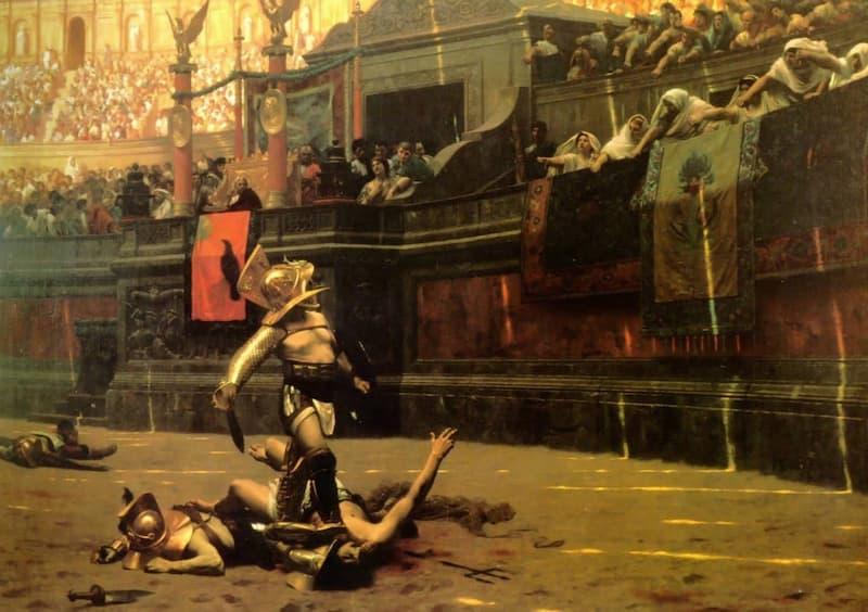 Gladiadores de la Antigua Roma(3)