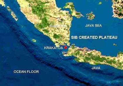 Krakatoa mapa