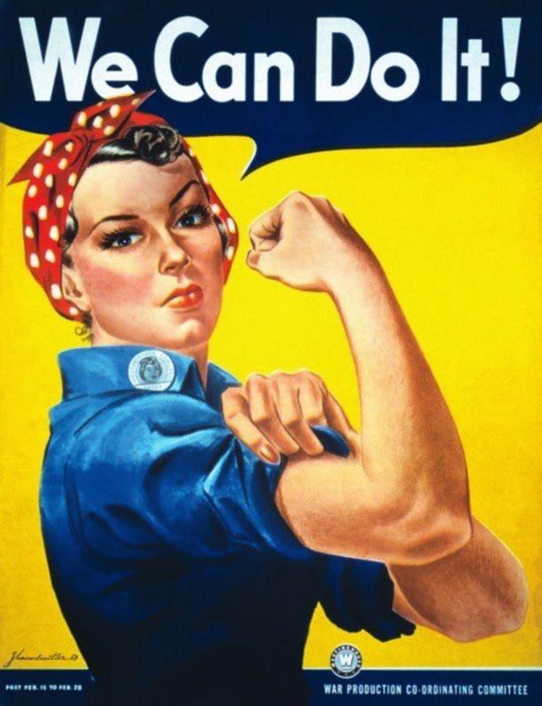 We Can Do It! cartel segunda guerra mundial