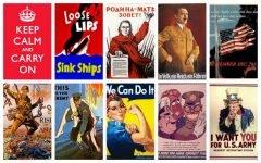 10 Carteles icónicos de la Segunda Guerra Mundial