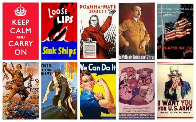 Carteles Segunda Guerra Mundial