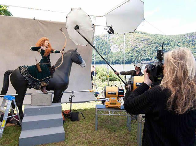 Celebridades Disney por Annie Leibovitz (3)