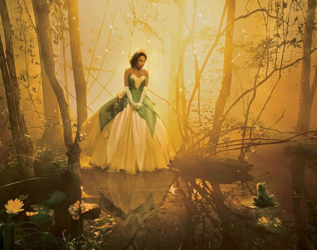 Celebridades Disney por Annie Leibovitz (2)