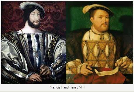 Francisco I y Enrique VII