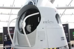 capsula semi-espacial Felix Baumgartner