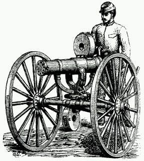 Gatling Guerra hispano-estadounidense