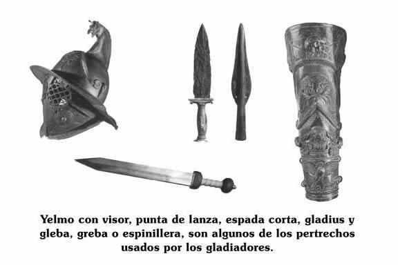 armas gladiador