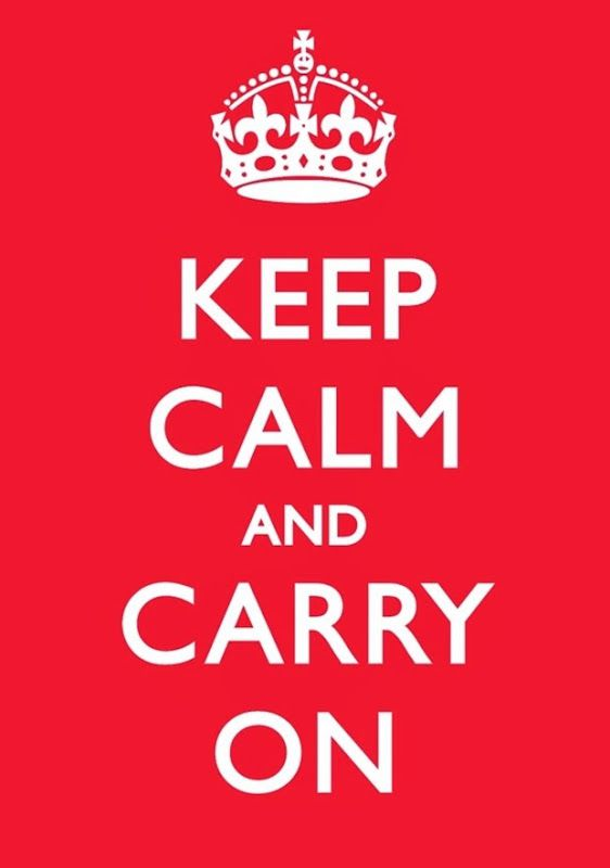 Keep Calm and Carry On cartel original