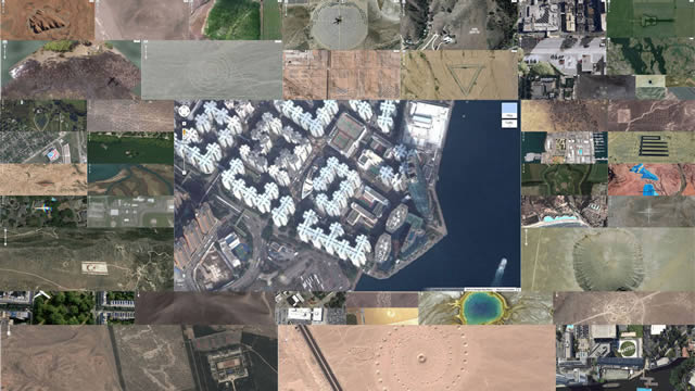 Lugares curiosos Google Earth