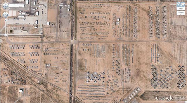 50 descubrimientos sorprendentes en Google Earth 01