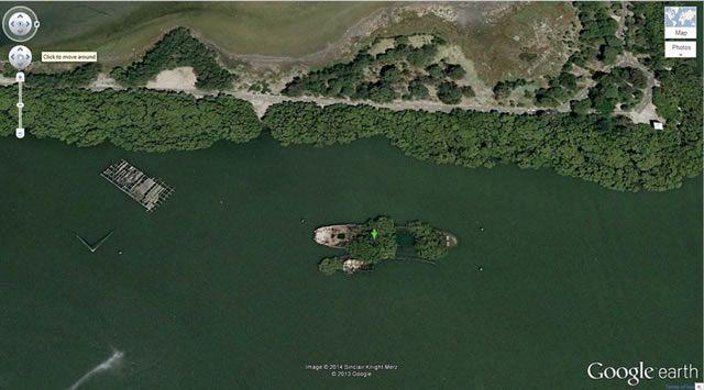 50 descubrimientos sorprendentes en Google Earth 06