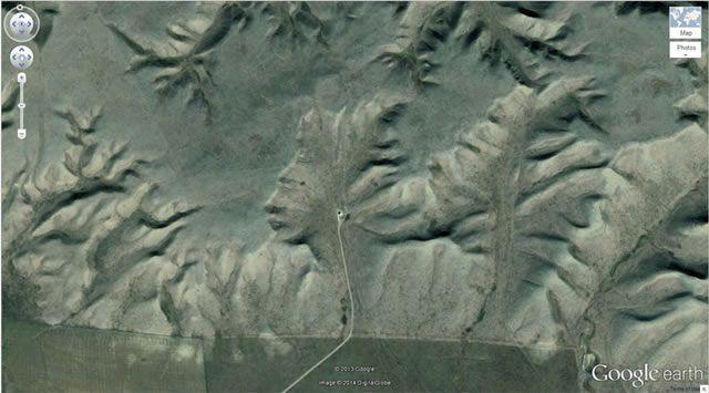50 descubrimientos sorprendentes en Google Earth 07