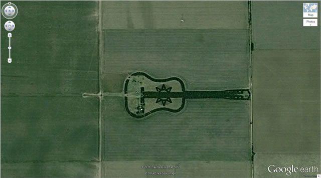 50 descubrimientos sorprendentes en Google Earth 10